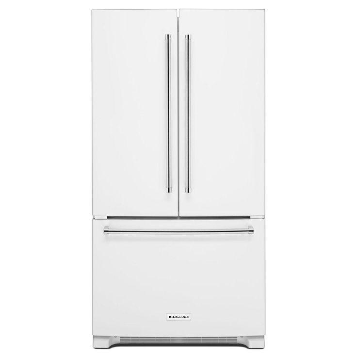 Kitchenaid Black Stainless Steel Counter Depth French Door: 25+ Best Ideas About Kitchenaid Refrigerator On Pinterest