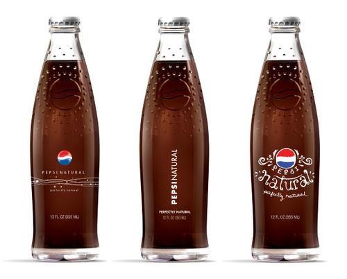Pepsi... natural?: Brand Identity Design Packing, Package Design, Pepsico Design, Packaging Design, Pepsi Cola, Glass Bottles, Pepsi Jpg 640 515