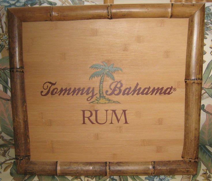 Tommy Bahama Rum Wood Sign Outdoor Bar Tommy Bahama