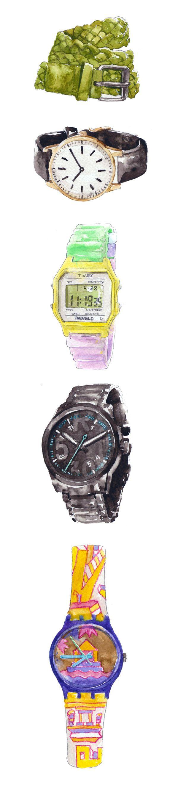 Top to Toe - Product drawings  | Bitchslap Magazine by Eunike Nugroho, via Behance