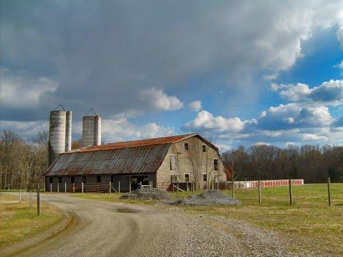Old barn in Caroline County, VA
