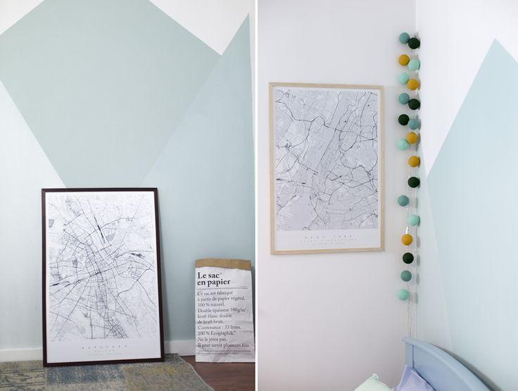 Dekoracyjna mapa Warszawy i dekoracyjna mapa Nowego Jorku | maptu.pl LETNI POKÓJ DZIECIĘCY #5: dodatki do wnętrza + jesienne DIY | Conchita Home