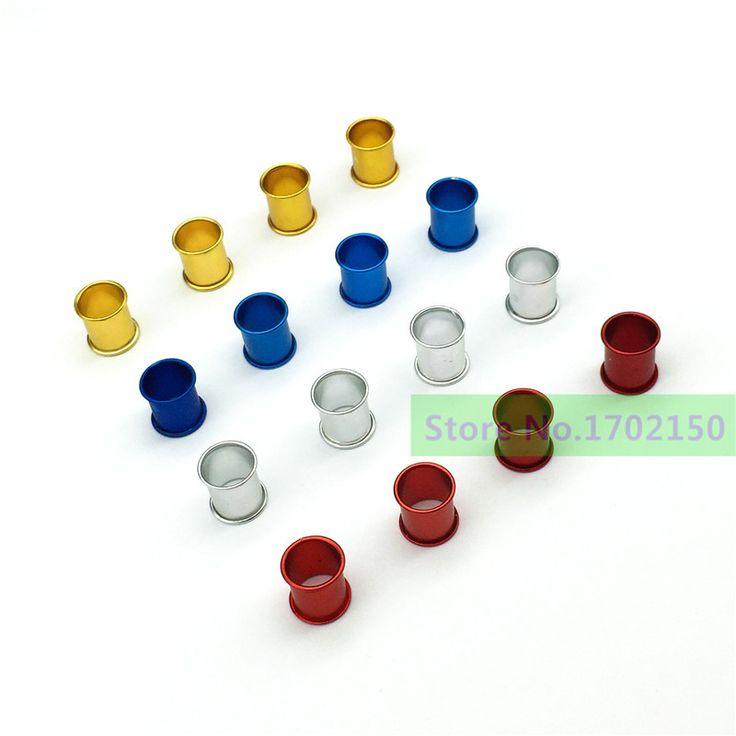 400 pz anello del piede di Piccione Lettera forniture piccione Uccello token ring anello In Alluminio 4 colori anello In Alluminio di identificazione del colore