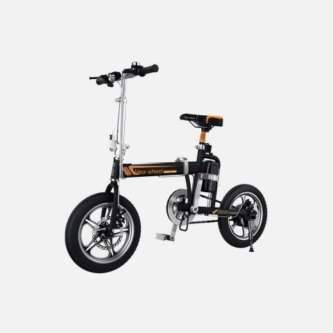 Ideawheel R5 Smart Electric Bike with Pedal Offers New Travel Concept: Green, Healthy and High-Efficiency