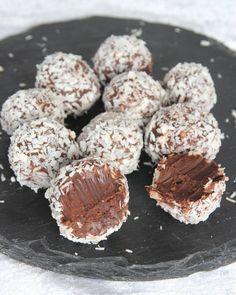 Chokladtryffel med kokos