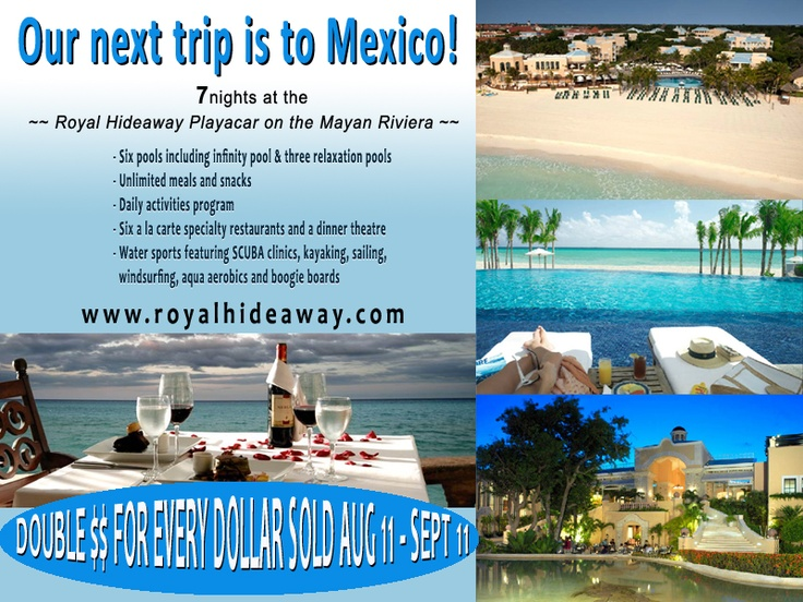 Who wants to earn the free trip to Mexico with Epicure Selections. Join my team and we will work on it together. www.jacquierougeau.com
