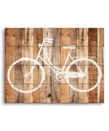 Ride A Bike Wall Décor by Image Canvas Beach cruiser cuteness