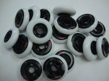 16pcs Manufacturing heavyweight slalom skate wheels wheel brake ...