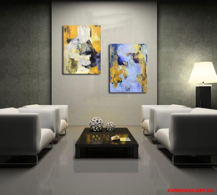 Abstrakt akrylmaleri  Se mere på http://Facebook.com/livetsgalleri Kontakt 28687035