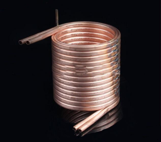 Double Copper Coil Heat Exchanger Kaweller Heat Exchanger