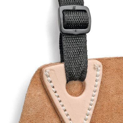 Good idea for reenforcing soft leather.