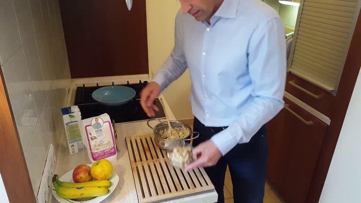 Katus Attila étkezési tippek és receptek- Almás fahéjas zabkása