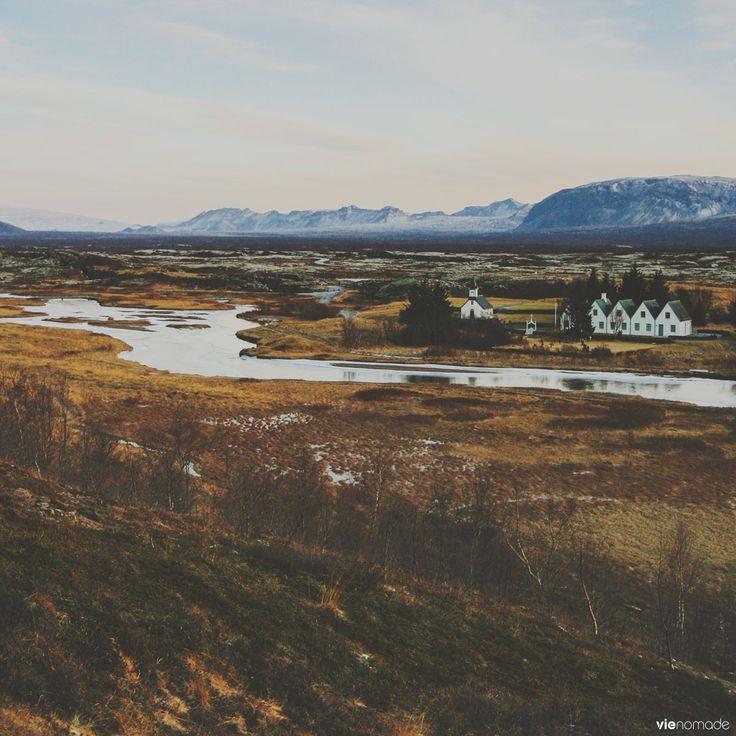 Thingvellir, Islande