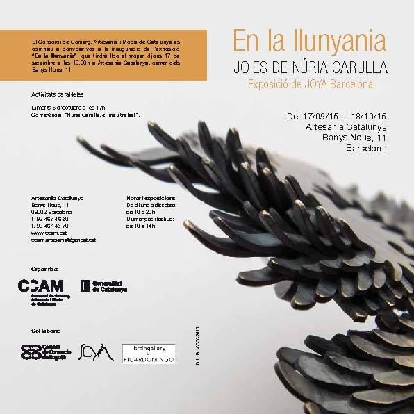 Nuria Carulla - EXPO 7sept-18 oct 2015 - Barcelona: