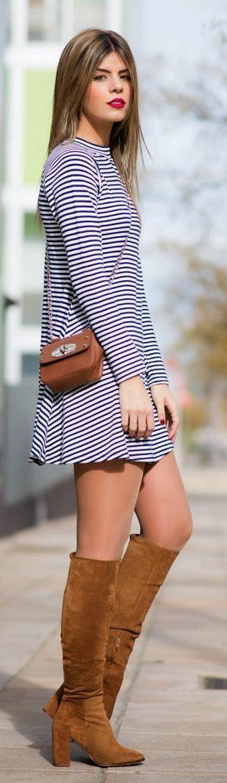 Stripes Dress by Ms Treinta