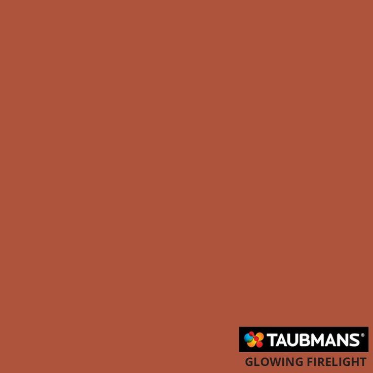 #Taubmanscolour #glowingfirelight -- feature wall for l.h wall of entrance, and second bedroom