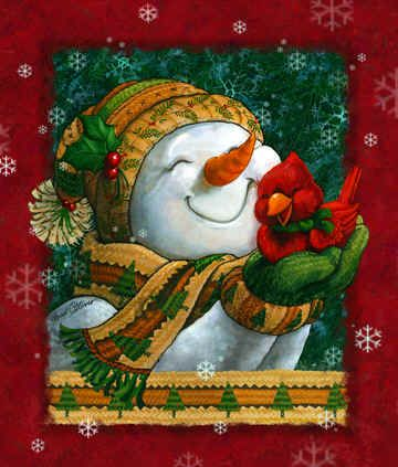 """Snuggle in the Snow""  by Janet Stever"