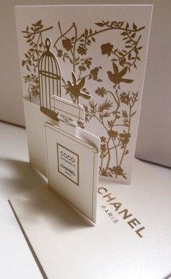 Carte parfumée Coco Mademoiselle CHANEL