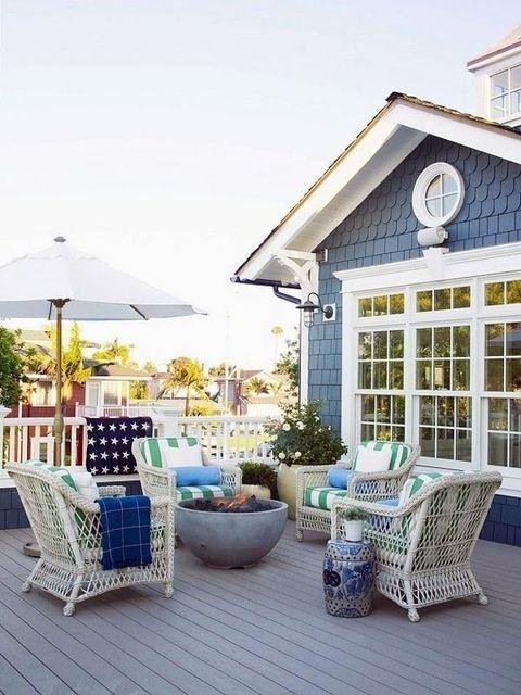 Просторный дом на побережье в Калифорнии. Дизайн интерьера Betsy Burnham #FAQinDecor #design #decor #architecture #interior #art #дизайн #декор #архитектура #интерьер