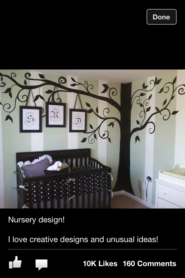 Thinking of painting this tree on wall in Baby room, What do you think?
