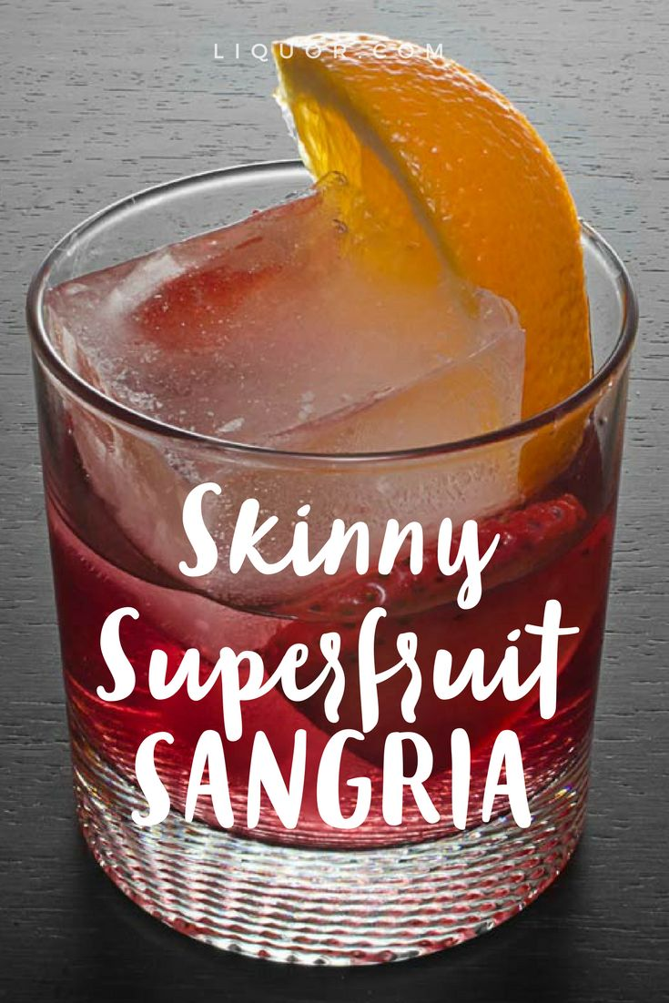 This #skinny #sangria is our latest obsession