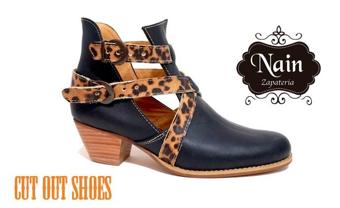 #cutout #shoes #botin #mujer #tendencia #2015 #shoes #lether #cuero #hechoenchile #nain #zapateria