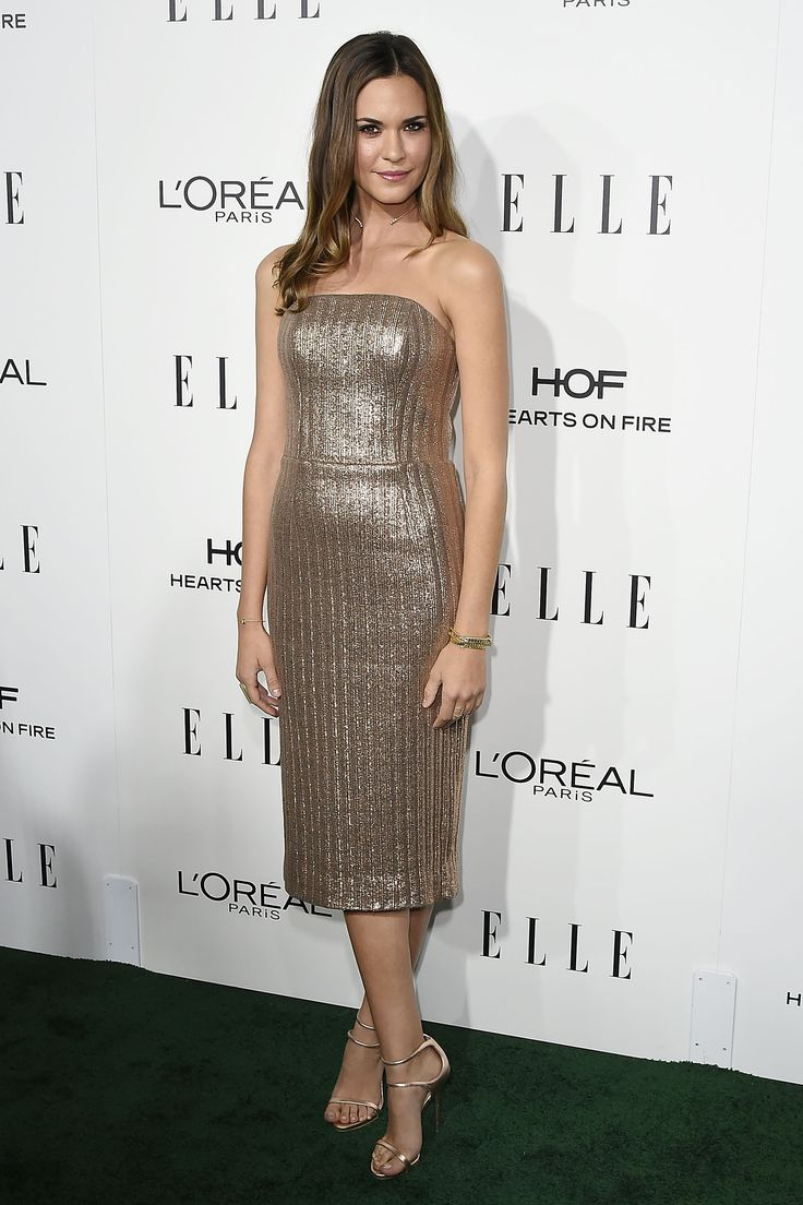 Odette Annable at elle's women in hollywood event