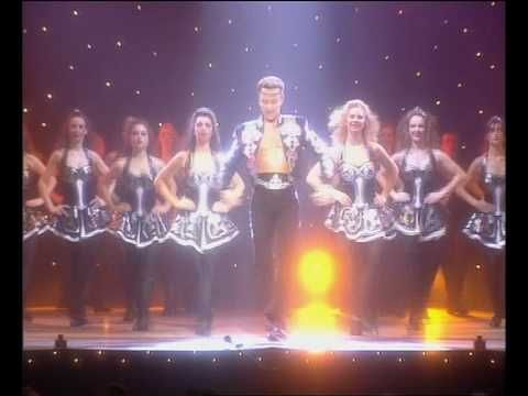 Michael Flatley's Lord of the Dance - saw his show in Baltimore in the late 90s.  Still gives me goose bumps!