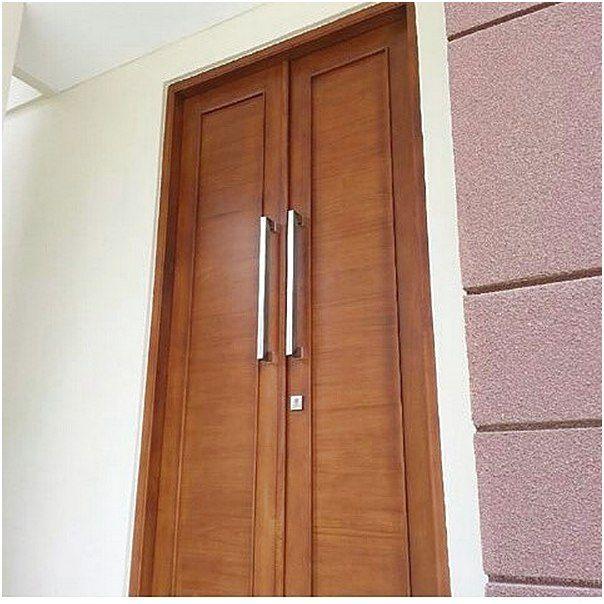 Model terbaru pintu rumah minimalis 2 pintu | Desain ...