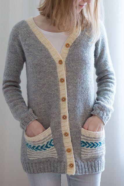 : Edinburgh Cardigan pattern by Suvi Simola