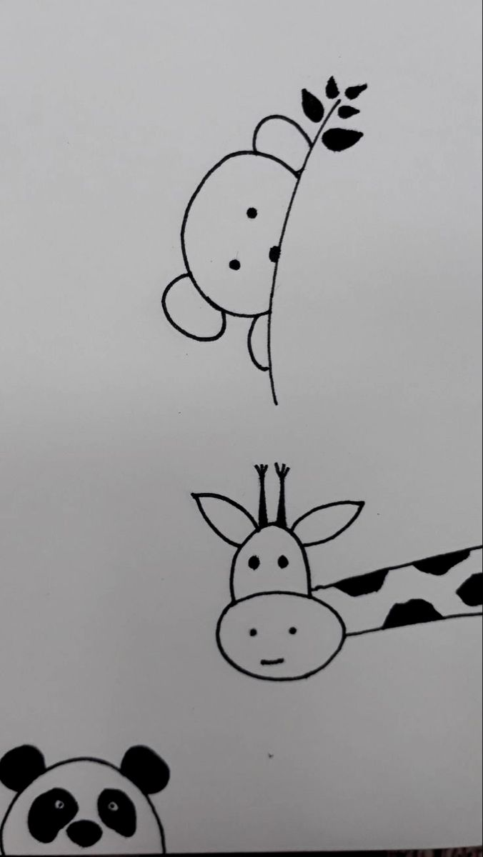 Pin Af V I G G A Pa Time 2 Draw Enkle Tegninger Ideer Til Tegning Broderi Ideer