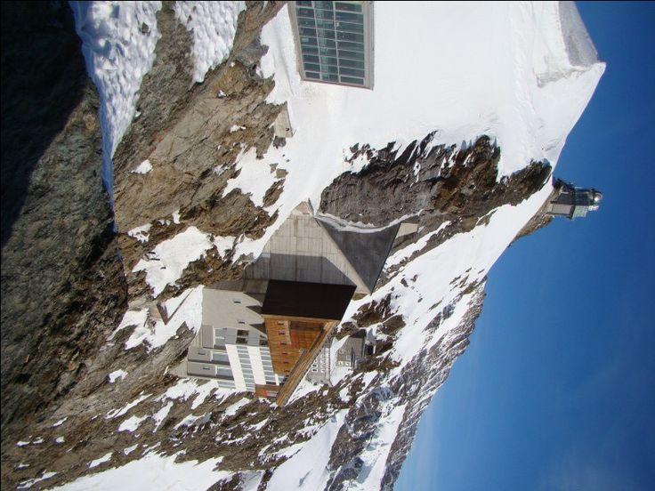 Vista do alto do Jungfrau