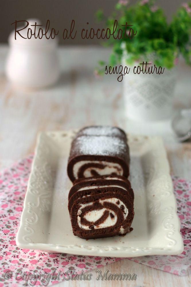 rotolo salame al cioccolato ricetta senza cottura freddo estivo estiva fredda…
