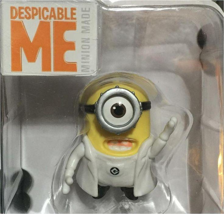 Despicable Me Backup Singer Minion Collectible Poseable Figure #Illumination #BackupSinger