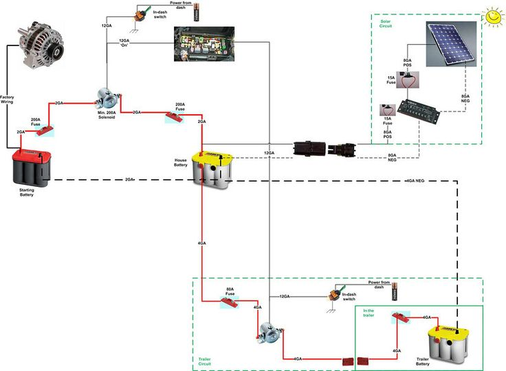 Battery Isolator Wiring Diagram On Wiring Diagram On Dual Alternator