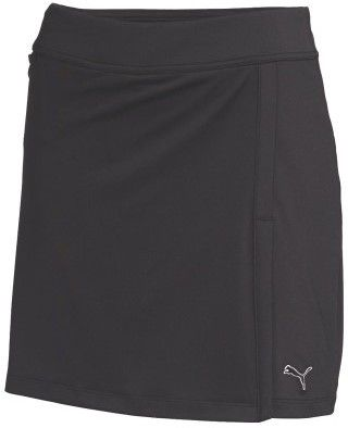 Puma Women's Solid Knit Golf Skirt Black XS