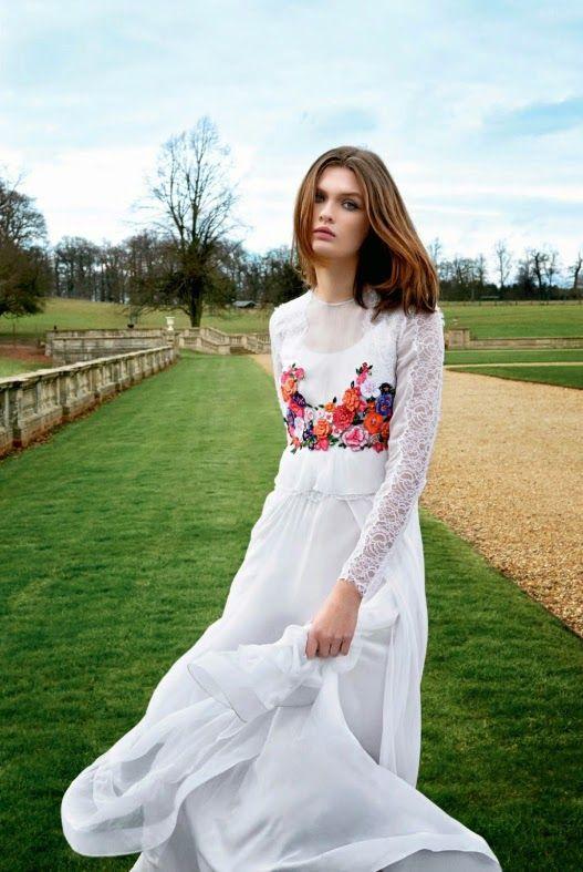 """Harper's Bazaar UK Haziran 2014 """"Yeni Bir Şey"""" Feat Lara Mullen Pamela Hanson tarafından"""