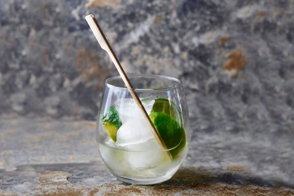 Verjuice and Lime Mocktail - Maggie Beer