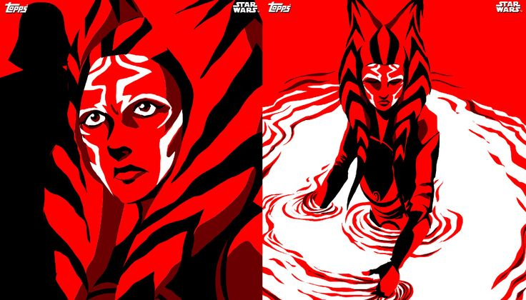 Dave Filoni has created a set of 10 digital trading cards for Topps' Star Wars: Card Trader app. These cards feature never-before-seen artwork by the Star Wars Rebels executive producer and are boldly illustrated in red, black, and white. https://team-ahsoka.com/2016/07/19/filoni-reveals-exclusive-artwork-for-topps-star-wars-card-trader/