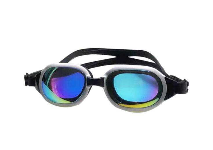 Fashion goggles men women electroplate swim glasses swim
