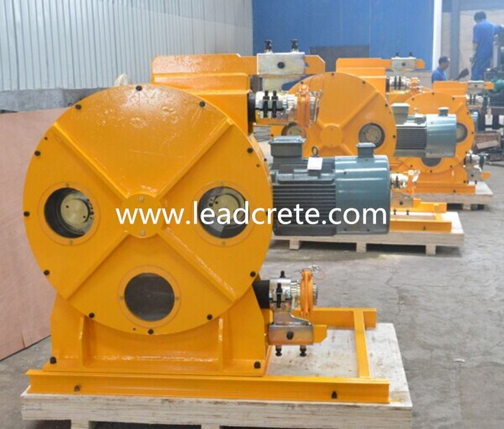 peristaltic pump with good performance for TBM