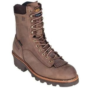 Carolina Men's 8 in. Insulated Waterproof  Composite Toe Logger Boots