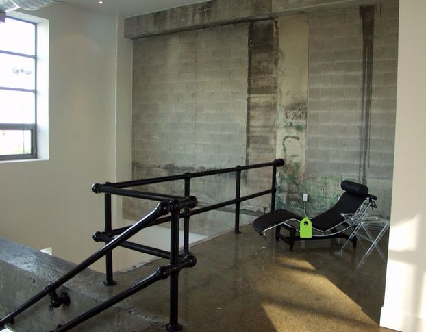 Best Loft Style Industrial Pipe Stair Hand Rail Diy Home 640 x 480