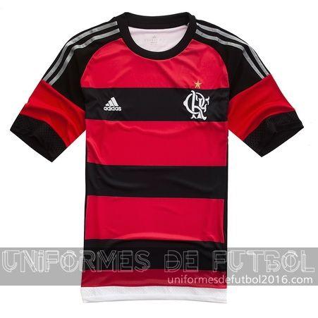 Jersey local para uniforme del Tailandia Flamengo 2016   uniformes de futbol economicos