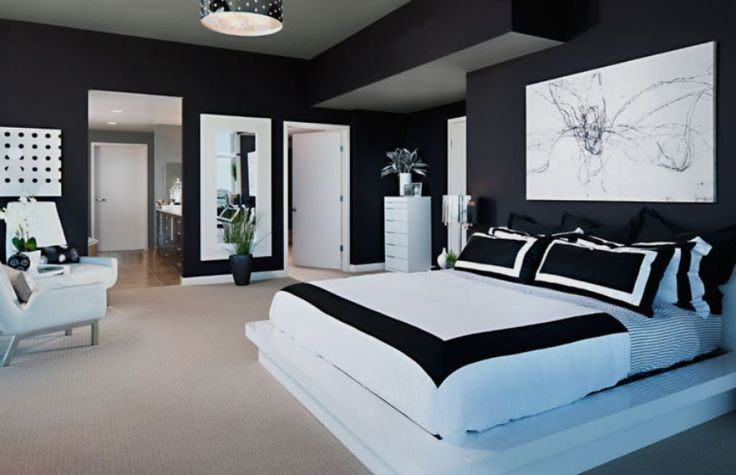 """Stylish Contemporary Bedroom  -  A contemporary bedroom style, like minimalist bedrooms, have the same goal """"less is more"""". In contemporary bedroom style you'll find moretradi... Check more at http://www.xtend-studio.com/3189-stylish-contemporary-bedroom/"""