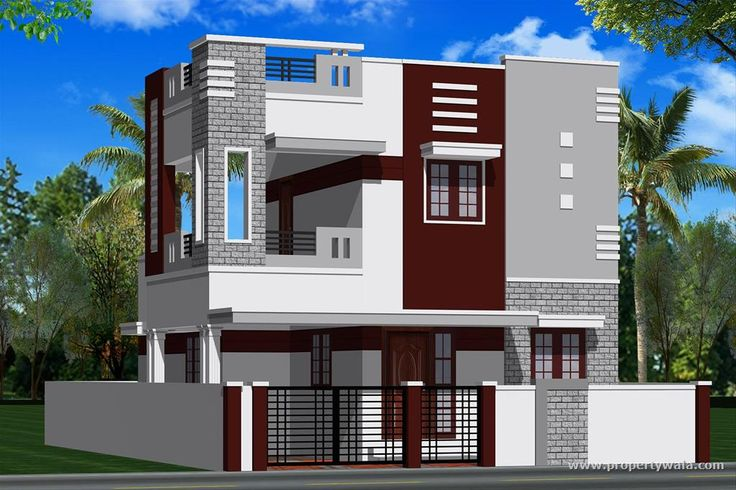 Independent House Design Plans In India