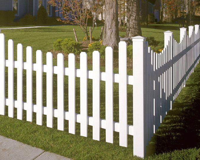 Fence idea... This was always my dream... a home with a white picket fence!