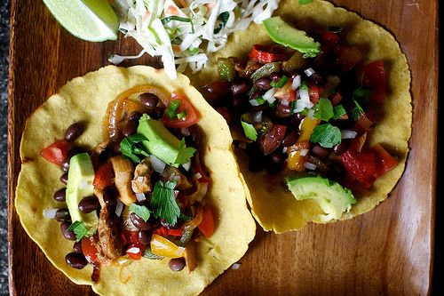 4/2/14: We cannot stop with the fajitas. They're so quick to make and, with the beans, peppers, slaw, avocado and pico suggestions, the proportion of meat: vegetables is so healthfully low, there's basically no reason not to.