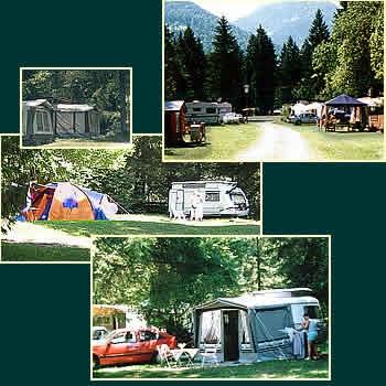 Camping - Lage und Stellplätze
