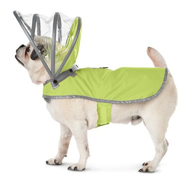 The Canine's Raincoat - Hammacher Schlemmer